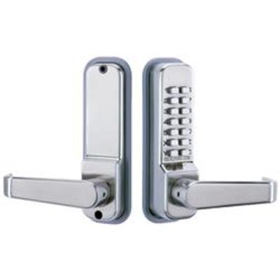 Codelocks CL415 Tubular Mortice Latch with Code Free Option - Mortice latch with Code Free