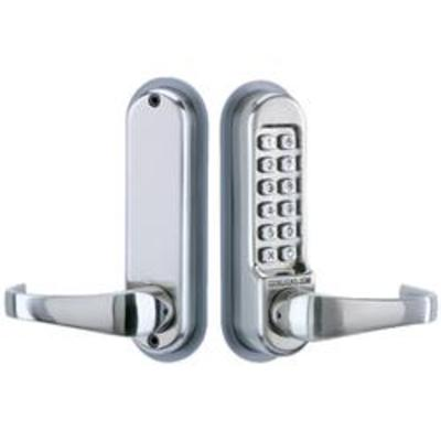 Codelocks CL505 Front and Back Plates Only with Code Free Option - Front and back plates only with Code Free