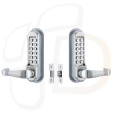 Codelocks CL515BB Tubular Mortice Latch Back to Back with Code Free - Back to back tubular latch with Code Free