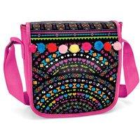 Cra Z Art Shimmer & Sparkle Pom Pom Messenger Bag
