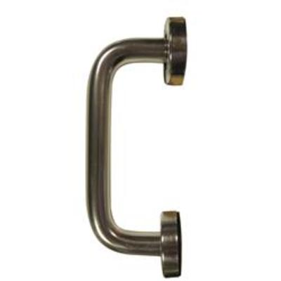 D Shaped Pull Handles Concealed Fixing - 152mm (6)