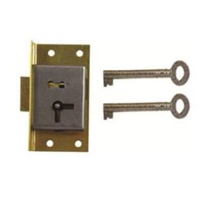 D14 1 LEVER CUT CUPBOARD LOCK - Left hand