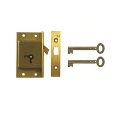 D21 2 LEVER CUT SLIDING DOOR LOCK - AS6520 Left hand