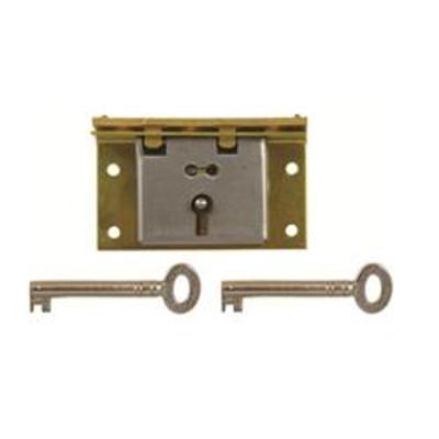 D8 1 LEVER BOX LOCK - Non handed