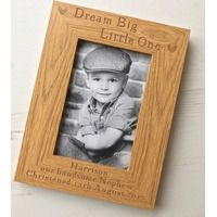 Dream Big Little One Personalised Photo Frame