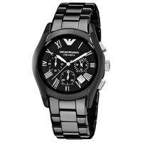 Emporio Armani AR1400 Black Ceramic Chronograph Mens Watch