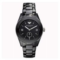 Emporio Armani AR1422 Ladies Black Ceramic Watch