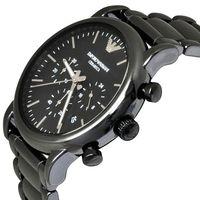 Emporio Armani AR1507 Mens Black Ceramic Chronograph Watch