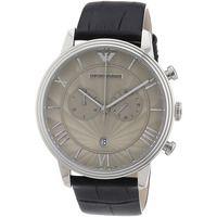 Emporio Armani AR1615 Mens Grey Dial Chronograph Watch