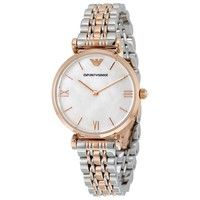 Emporio Armani AR1683 Classic Two-Tone Ladies Watch