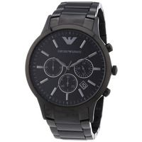 Emporio Armani AR2453 Black Stainless Steel Mens Watch