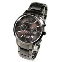 Emporio Armani AR2454 Grey Stainless Steel Mens Watch