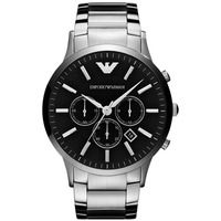 Emporio Armani AR2460 Silver Stainless Steel Mens Watch
