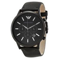 Emporio Armani AR2461 Black Chronograph Mens Watch