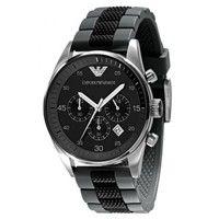 Emporio Armani AR5866 Black Chronograph Mens Watch