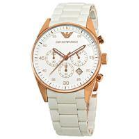 Emporio Armani AR5919 White Sportivo Unisex Watch