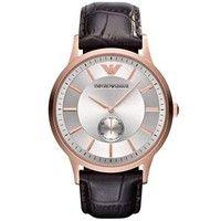 Emporio Armani AR9101 Mens Brown Leather Watch