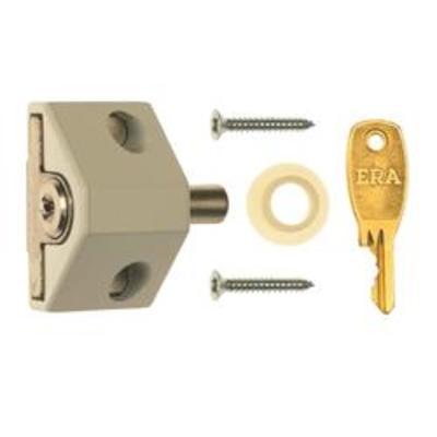 Era 100 Patio Door Lock - ERA 100-12 1 lock & 2 keys