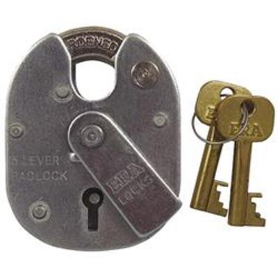 Era 975 Close Shackle Padlock - Key to differ
