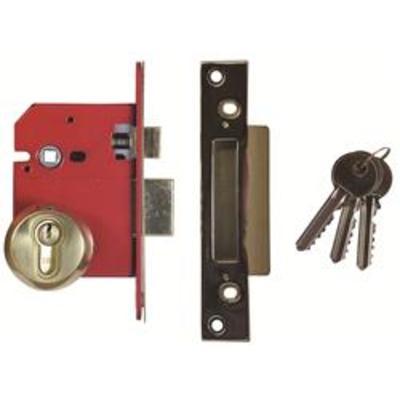 Era BS8621-2004 Euro Escape Sashlock Complete Lockset - 67mm (2 &frac12)