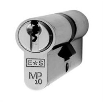 Eurospec MP10 Euro Double cylinder - MP10 35-35 Satin Chrome