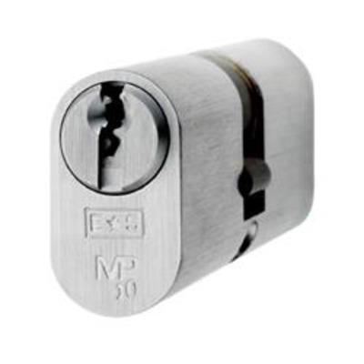 Eurospec MP10 Oval Double cylinder - MP10 32-32 Polished Brass