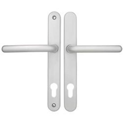 Fab & Fix Balmoral Centres-PZ- 92mm Screw Centres- 212mm Backplate- 242mm x 32mm - White