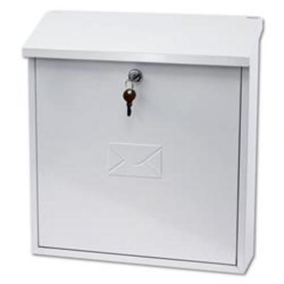 G2 Severn Post Box - White