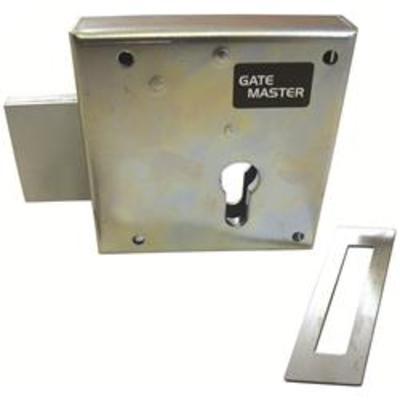 Gatemaster Heavy Duty Double Throw Euro Deadlock - Left hand
