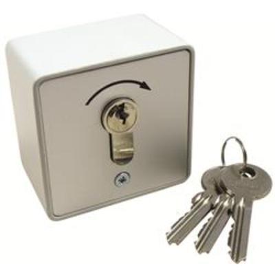 Geba 1 Way Key Switch - Key switch