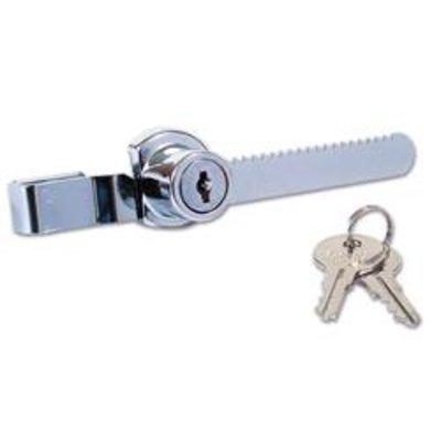 Hiatt 384B Rachet Showcase Lock - 17mm CP KD Boxed