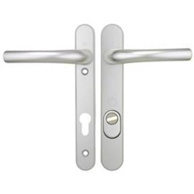 Hoppe Tokyo PAS24 Centres-PZ- 92mm Screw Centres- 215mm Backplate- 242mm x 35mm (exterior) 26mm (inte