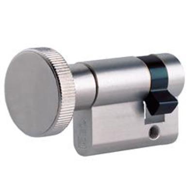 ISEO F6 Half Euro Turn - T30-10 40mm Satin