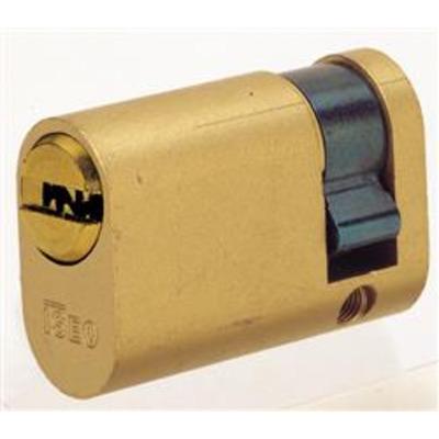 ISEO R6 Half Oval profile cylinder - 10-30 Nickel
