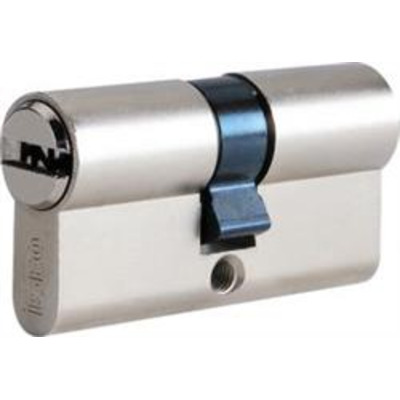ISEO R6 euro double profile cylinder - 30-30 Nickel
