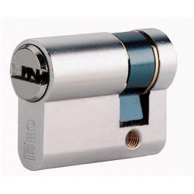 ISEO R6 half euro cylinder - 10-30 Nickel