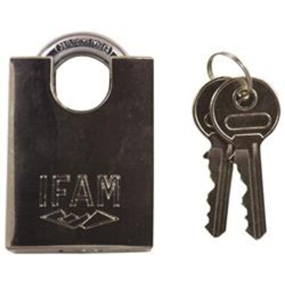 Ifam MAX50 45000 Stainless Steel Close Shackle Padlock Keyed Alike - Key to differ