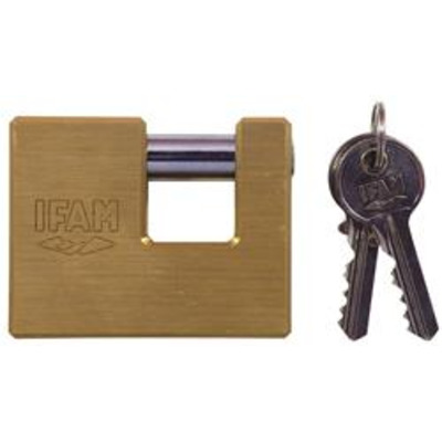 Ifam U Series Brass Padlocks - Key to differ
