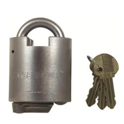 Ingersoll 700 Series CS712 Closed Shackle Padlock - Key to differ
