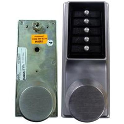 Kaba Simplex-Unican 1031 Series Mortice Latch Digital Lock with Passage - 1031-26D-41 Tubular mortice latch version with passage function