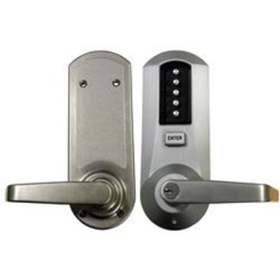 Kaba Simplex-Unican 5041 Series Mortice Deadlatch Digital Lock with Key Override and Passage - 5041XKWL-26D-41 Mortice deadlatch