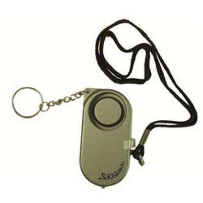 Key Ring Battery Operated Personal Alarm & Torch - Alarm