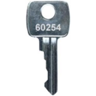Key series 60 Keys cut to code 60001-60800 - Key series 60 Keys cut to code 60001-60400