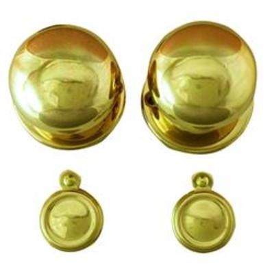 LEGGE 472 Round Mortice Knob - Rim knob