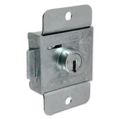L&F 2303 7 Lever Springbolt Locker Lock - 6mm ZP KD