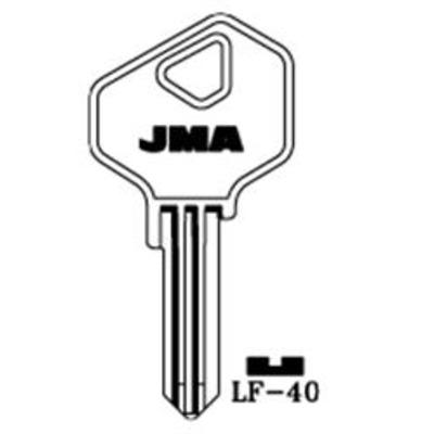 L&F 40, LF30R Keys cut to code 801-1000 - Key Series 800 Keys cut to code 801-1000