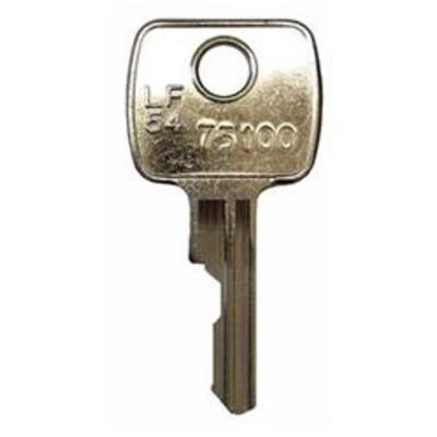 L&F 54 Key Series 75001-75200 Keys cut to code - Key Series 75 Keys cut to code