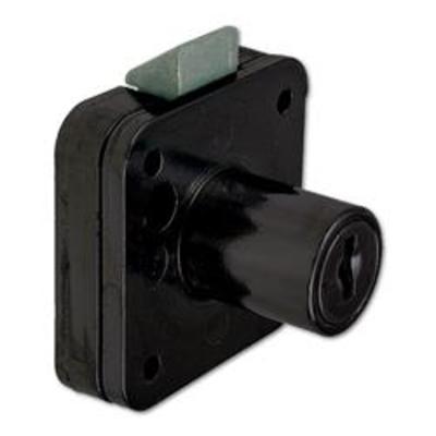 L&F 5883 Cylinder Drawer Lock - 20mm BLK KD Bagged