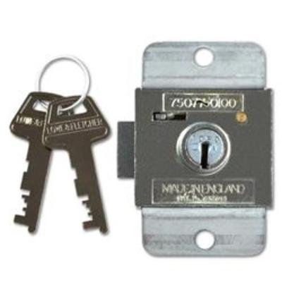 L&F 7 Lever Deadbolt Locker Lock - 6mm ZA KD
