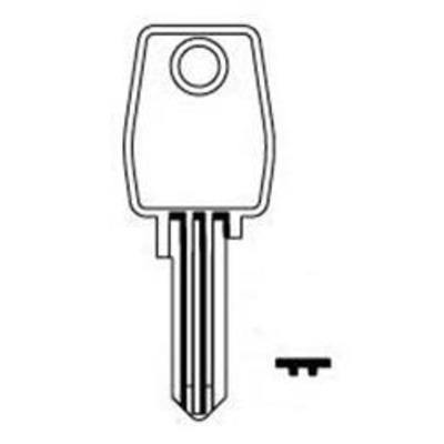 L&F 77 series keys cut to code 77001-77500 - L&F 77 series keys cut to code 77001-77500